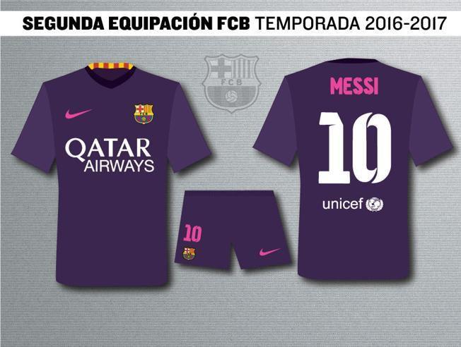 b0bede17947ed Foto: Nové netradičné dresy FC Barcelona pre sezónu 2016/17